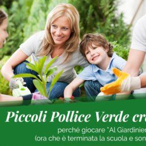 """5 buoni motivi per giocare """"Al Giardiniere"""" coi tuoi figli"""